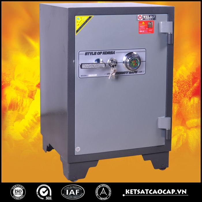 đặc điểm sản phẩm Két sắt chống cháy kcc150 KC